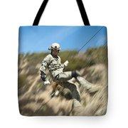 U.s. Air Force Airman Practices Tote Bag