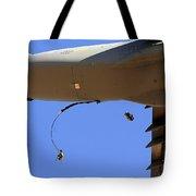 U.s Air Force Airmen Parachute Tote Bag