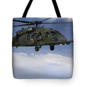 U.s. Air Force Hh-60 Pave Hawks Conduct Tote Bag