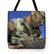 U.s. Air Force Lieutenant Reviews Tote Bag