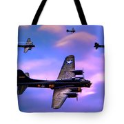 Us Army Air Corps B17g Flying Fortress Tote Bag