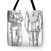 U.s. Army: Fatigues, 1882 Tote Bag by Granger