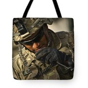 U.s. Army Soldier Communicates Tote Bag