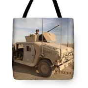 U.s. Army Soldier Pulls Security On Top Tote Bag
