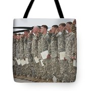 U.s. Army Soldiers And Recipients Tote Bag