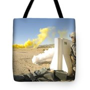 U.s. Army Specialist Calls In For An Tote Bag
