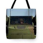 U.s. Army Specialist Operates An Tote Bag