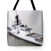 U.s. Coast Guard Cutter Stratton Tote Bag