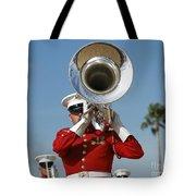 U.s. Marine Corps Drum And Bugle Corps Tote Bag