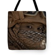U.s. Marine Covered In Dirt Tote Bag