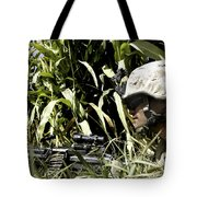 U.s. Marine Maintains Security Tote Bag