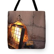 U.s. Marine Places A Cage Tote Bag