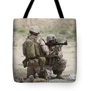 U.s. Marines Prepare A Fragmentation Tote Bag