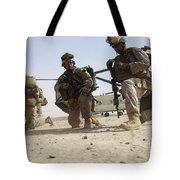 U.s. Marines Unloading Tote Bag