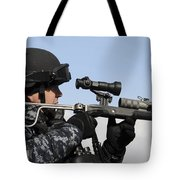 U.s. Navy Chief Uses An La9p Nonlethal Tote Bag