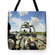 U.s. Navy Riverine Squadron Tote Bag
