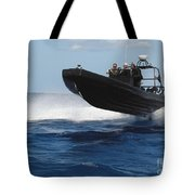 U.s. Navy Sailors Operate A Nine-meter Tote Bag