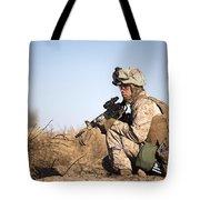 U.s. Navy Soldier Participates Tote Bag