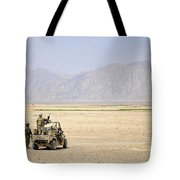 U.s. Soldiers Provide Security Tote Bag