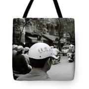 Usa And Hanoi Tote Bag