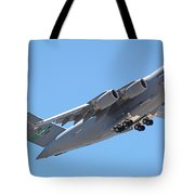 Usaf C-17 Lift Off  Tote Bag