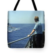 Uscgc Thetis Approaches A German Combat Tote Bag