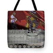 Usmc Aav7 Tote Bag