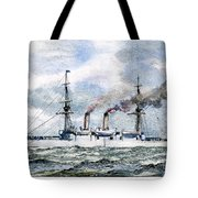 Uss Boston, 1890 Tote Bag