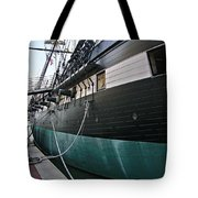 Uss Constellation 1854 Tote Bag