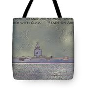 Uss Enterprise Cvan 65 Tote Bag by Carl Deaville
