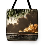 U S S Shaw Pearl Harbor December 7 1941 Tote Bag