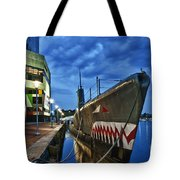 Uss Torsk Submarine Memorial Tote Bag