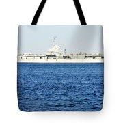 Uss Yorktown Tote Bag