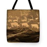 Utah Petroglyphs 1 Tote Bag