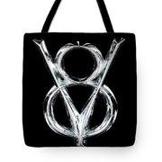 V8 Chrome Emblem Tote Bag