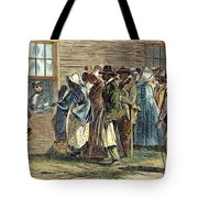 Va: Freedmens Bureau 1866 Tote Bag by Granger