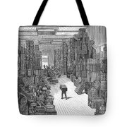 Vacation Travel, 1882 Tote Bag