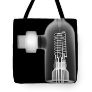 Vacuum Ionization Gauge Tube Tote Bag