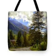 Vail Country Road 1 Tote Bag