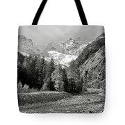 Val Di Cogne In The Italian Alps Tote Bag