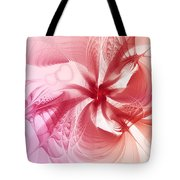 Valentine Flower Tote Bag