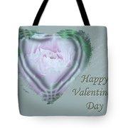 Valentine Pink Tree Peony Tote Bag