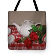 Valentine Tea For Two  Tote Bag