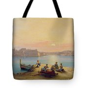 Valetta Harbour At Sunset Tote Bag