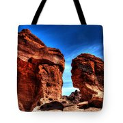 Valley Of Fire Monuments Tote Bag