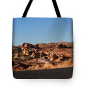 Valley Of Fire Winding Road Tote Bag