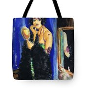 Vamp With Mirrors Tote Bag