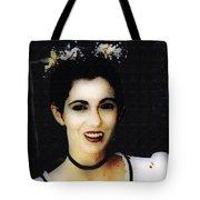Vampire Bride Tote Bag
