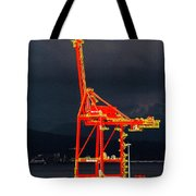 Vancouver, Bc - Harbour Tote Bag