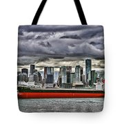 Vancouver Freighter Hdr Tote Bag